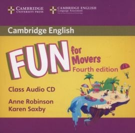 Fun for Movers Class Audio CD - Anne Robinson, Karen Saxby