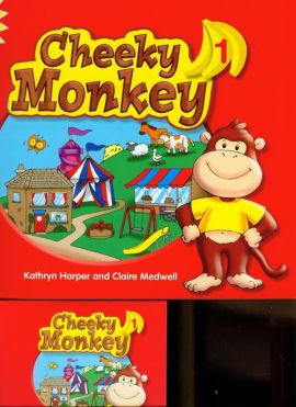 Cheeky Monkey 1 Pupil's Book with Multi-ROM - Outlet - Kathryn Harper, Claire Medwell