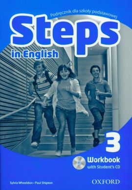Steps in English 3 Workbook + CD - Paul Shipton, Sylvia Wheeldon