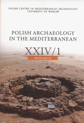 Polish Archaeology in the Mediterranean XXIV/1 Research