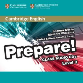 Cambridge English Prepare! 3 Class Audio 2CD - Joanna Kosta, Melanie Williams