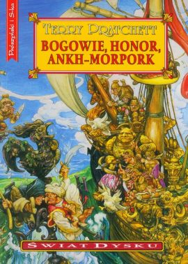 Bogowie, honor, Ankh-Morpork - Terry Pratchett