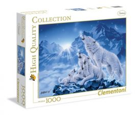 Puzzle Family of wolves 1000