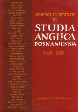 American Literature in Studia Anglica Posnaniensia 1968-2008 A Selection of Articles - Outlet