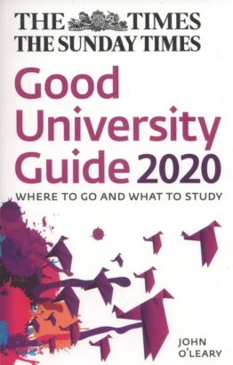 The Times Good University Guide 2020 - John O'Leary