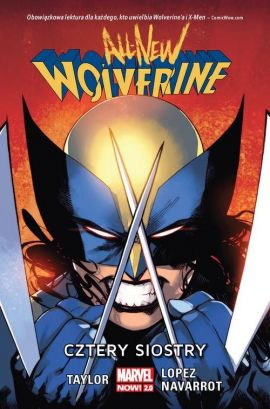 All-New Wolverine Cztery siostry - Tom Taylor