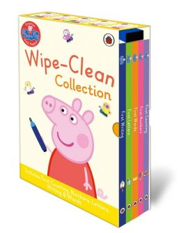 Peppa Pig Wipe Clean Board Book Collection