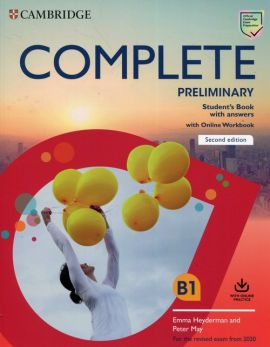 Complete Preliminary Student's Book with Answers with Online Workbook - Emma Heyderman, Peter May