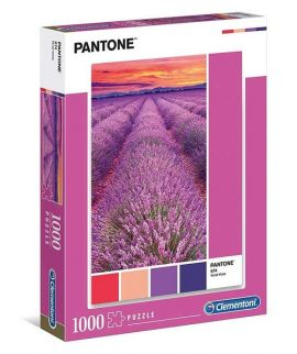 Puzzle High Quality Collection Pantone Lavender Sunset 1000