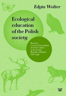 Ecological education of the Polish society - Edyta Wolter