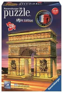 Puzzle 3D Łuk Triumfalny - NIGHT EDITION  216