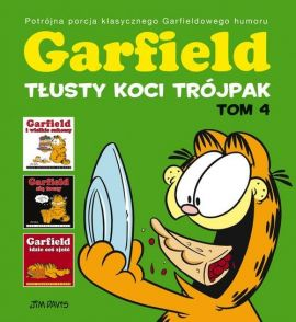 Garfield Tłusty koci trójpak Tom 4 - Jim Davis