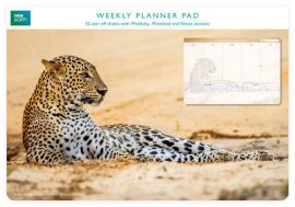 Planer tygodniowy Leopard in sand