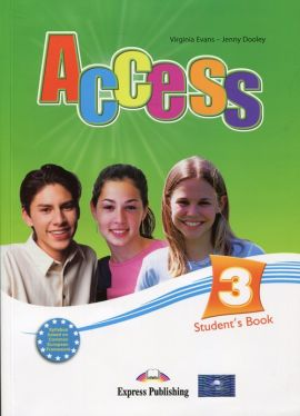 Access 3 Student's Book + ieBook International - Jenny Dooley, Virginia Evans