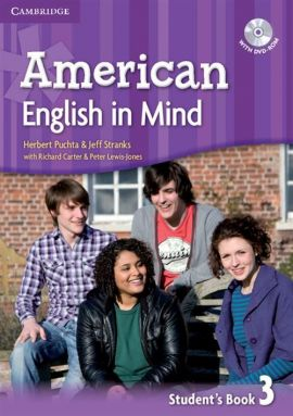 American English in Mind 3 Student's Book with DVD-ROM - Richard Carter, Peter Lewis-Jones, Herbert Puchta, Jeff Stranks