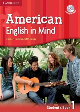 American English in Mind 1 Student's Book with DVD-ROM - Herbert Puchta, Jeff Stranks