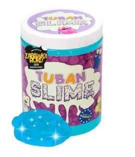Tuban Super Slime brokat neon niebieski 1 kg - Outlet
