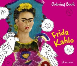 Coloring Book Frida Kahlo