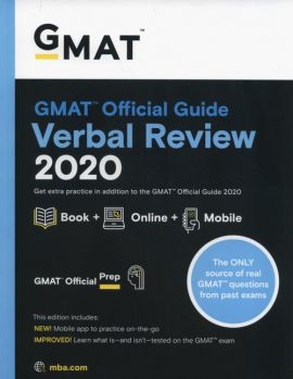 GMAT Official Guide 2020 Verbal Review: Book + Online Question Bank