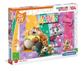 Puzzle Supercolor 104 Koty