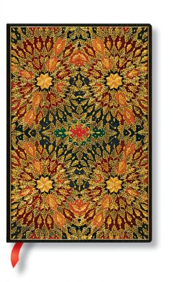 Notes Fire Flowers Mini Lined