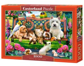 Puzzle 1000 Pets in the Park