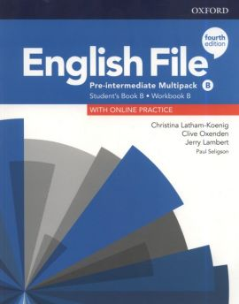 English File 4E Pre-Intermediate Multipack B +Online practice - Jerry Lambert, Christina Latham-Koenig, Clive Oxenden
