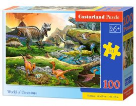 Puzzle World of Dinosaurs 100