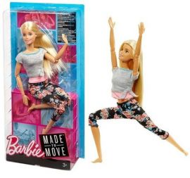 Barbie lalka Made to move
