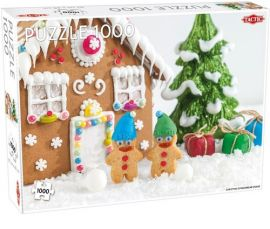 Puzzle Christmas gingerbread house 1000 - Outlet