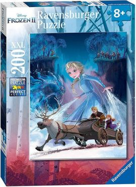 Frozen 2 Puzzle 200 XXL The mysterious forest