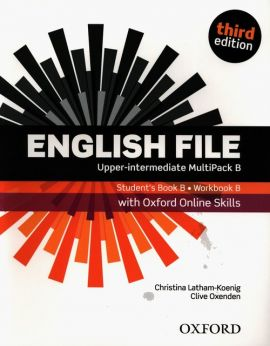 English File Upper-Intermediate Student's Book Workbook MultiPack B with Oxford Online Skills - Christina Latham-Koenig, Clive Oxenden