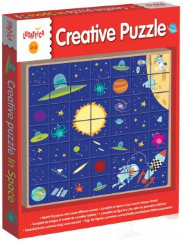 Wood - Creative Puzzle In Space (W Kosmosie)