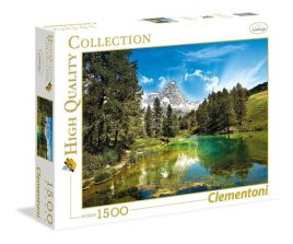 Puzzle High Quality Collection Blue Lake 1500