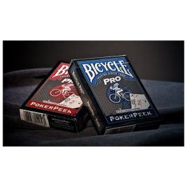 Bicycle PRO RED & BLUE MIX DECK