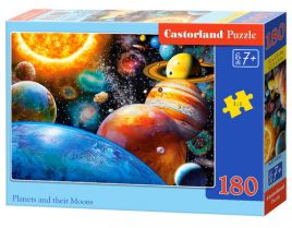Puzzle Planets and their Moons 180