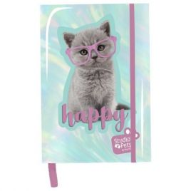 Notes holograficzny A5 Studio Pets