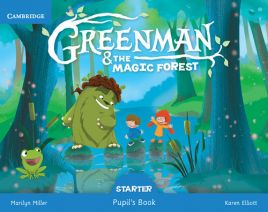 Greenman and the Magic Forest Starter Pupil's Book with Stickers and Pop-outs - Karen Elliott, Marilyn Miller