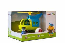 Helikopter Z Figurką Jumbo Fun Colors - Giftbox